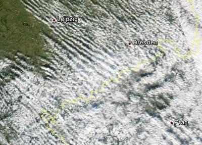 NOAA (Aqua) Satellitenbild