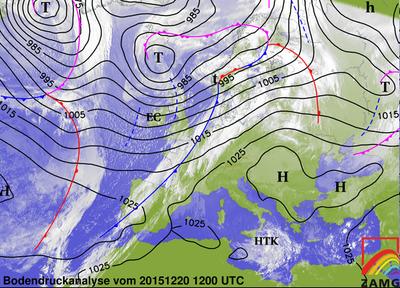 Bodendruckanalyse 20.12.15, 12 UTC