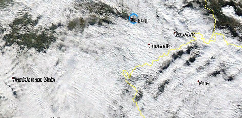 NOAA-Aqua-Satellitenbild