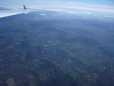 Bad Gandersheim aus 3000 m